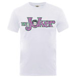 Camiseta Batman de homem - Design: Joker Crackle Logo