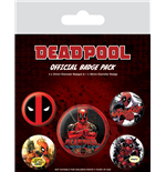 Broche Deadpool 242275