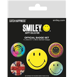 Pack Broches Smiley - Classic