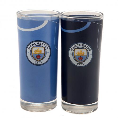 Pack Copos de cocktail Manchester City FC