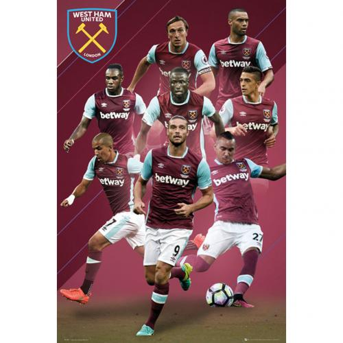 Poster West Ham United 242450