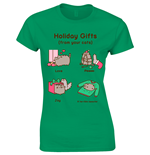 Camiseta Pusheen Holiday Gifts