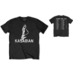 Camiseta Kasabian de homem - Design: Ultra Face 2004 Tour