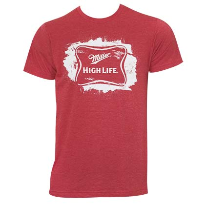 Camiseta Miller Beer High Life Sketched Logo