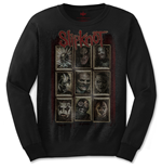 Camiseta manga longa Slipknot de homem - Design: New Mass