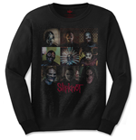 Camiseta manga longa Slipknot Blocks