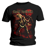 Camiseta Iron Maiden Benjamin Breeg Red Graphic
