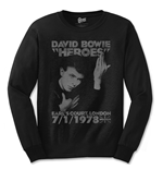 Camiseta manga comprida David Bowie 244283
