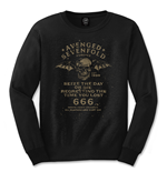 Camiseta manga comprida Avenged Sevenfold de homem - Design: Seize the Day