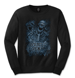 Camiseta manga longa Avenged Sevenfold Chained Skeleton