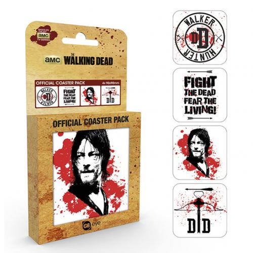 Pack Suporte Copos The Walking Dead