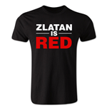 Camiseta Zlatan Ibrahimovic Zlatan is Red