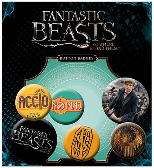 Pack Broches Fantastic beasts