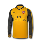 Camiseta manga comprida Arsenal 2016-2017 Away