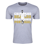 Camiseta Real Madrid (Cinza)