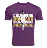 Camiseta Real Madrid (Roxo)