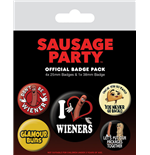Broche Sausage Party 245766