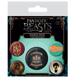 Broche Fantastic beasts 246247