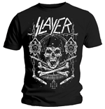 Camiseta Slayer Skull & Bones Revised