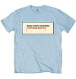 Camiseta Manic Street Preachers Everything Must Go
