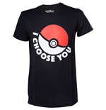 Camiseta Pokémon - I Choose You Preta