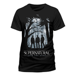 Camiseta Supernatural - Group Outline