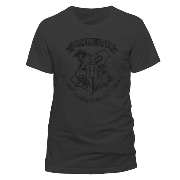 Camiseta Harry Potter - Distressed Hogwarts