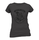 Camiseta Harry Potter - Distressed Hogwarts de mulher