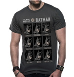 Dc Originals - Moods Of Batman - Camiseta Unisex Cinza