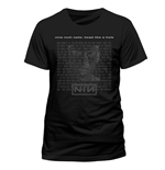 Nine Inch Nails - Head - Camiseta Unisex Preta