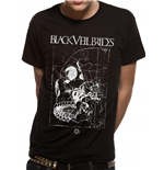 Black Veil Brides - Side Skull - Camiseta Unisex Preta