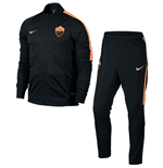 Moletom AS Roma 2016-2017 (Preto) de menino