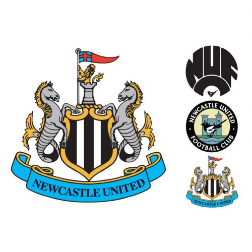 Vinil decorativo para parede Newcastle United 248158