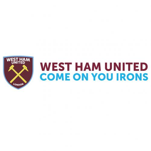Vinil decorativo para parede West Ham United 248159