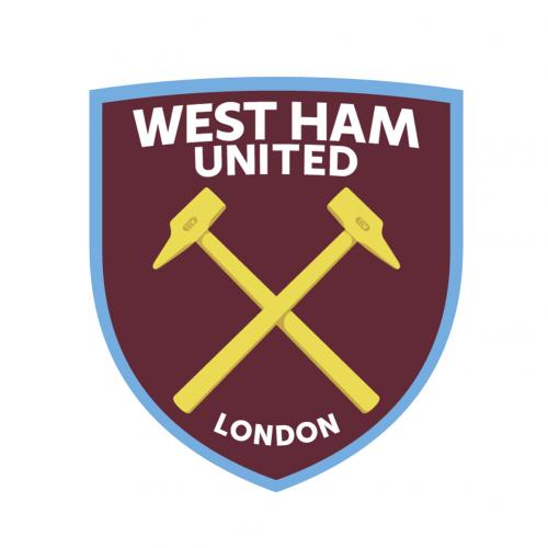 Vinil decorativo para parede West Ham United 248160
