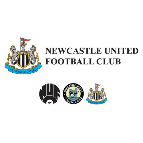 Vinil decorativo para parede Newcastle United 248161