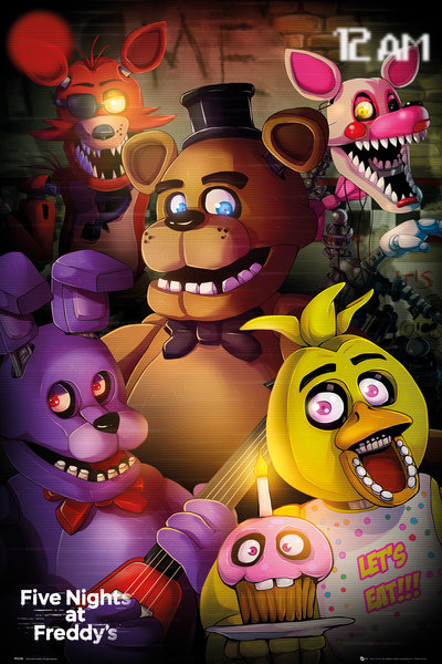 Poster Five Nights at Freddy's 248351