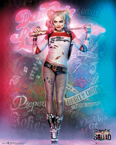Póster Suicide Squad Harley Quinn