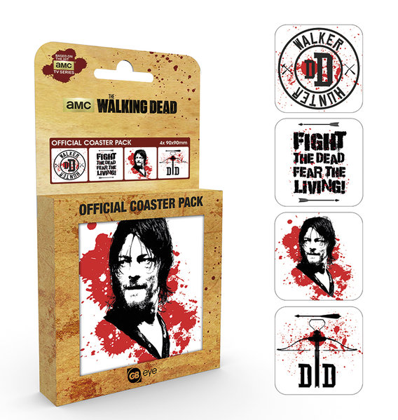 Pack Suporte copo The Walking Dead Daryl
