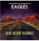 Vinil Eagles - Dark Desert Highways Blue Vinyl