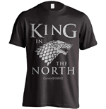 Camiseta Jogo de Poder Soberano (Game of Thrones) King In The North