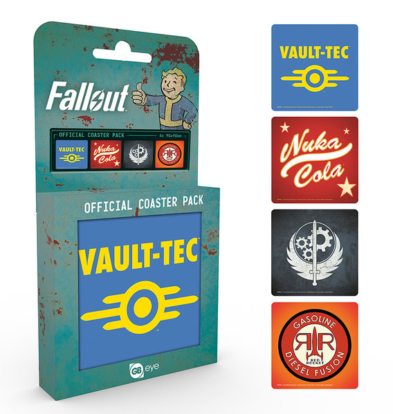 Pack Suporte copos Fallout 4