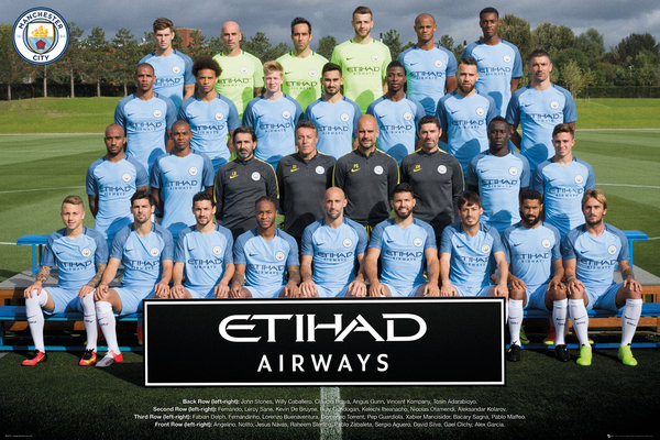 Poster Manchester City FC 249177