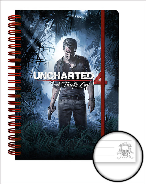 Agenda A5 Uncharted 4