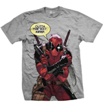 Camiseta Marvel Super heróis Deadpool Nerd