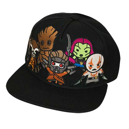 Boné Guardians of the Galaxy Kawaii Style