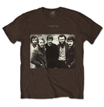 Camiseta The Band de homem - Design: Group Photo