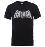 Camiseta DC Comics Superheroes de homem - Design: Originals Batman Retro Crackle Logo