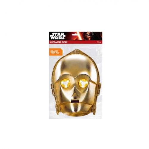Máscara Star Wars C-3PO