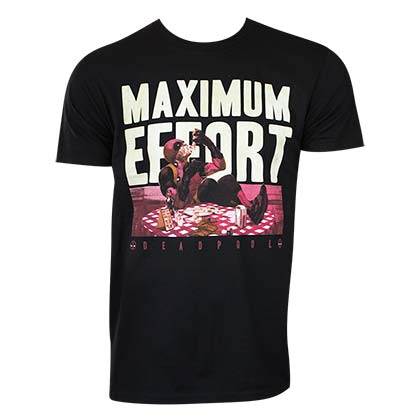 Camiseta Deadpool Maximum Effort